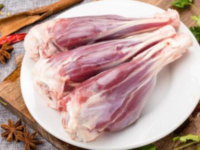 绿祥呼伦贝尔有机羊小腿生羊肉羊腿羊肉新鲜清真6只1100g