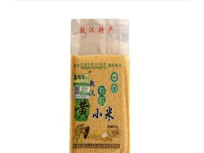 野农优品 小米 有机黄小米 内蒙特产农家特产有机黄小米 五谷杂粮新米500g