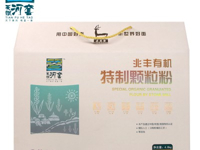 天赋河套兆丰石碾有机特质颗粒粉0.8kg*6