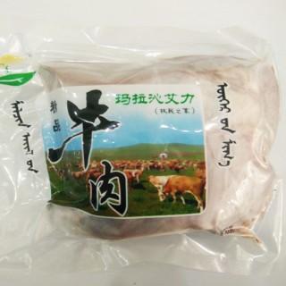 玛拉沁艾力绿色牛肉 48小时排酸 牛排骨 500g