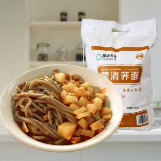 蒙清荞面粉杂粮面粉荞面面粉荞面饸饹乔麦面内蒙古纯荞麦面粉4斤