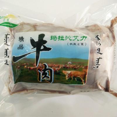 玛拉沁艾力绿色牛肉 48小时排酸 牛腩