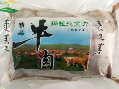 玛拉沁艾力绿色牛肉 48小时排酸 牛排骨