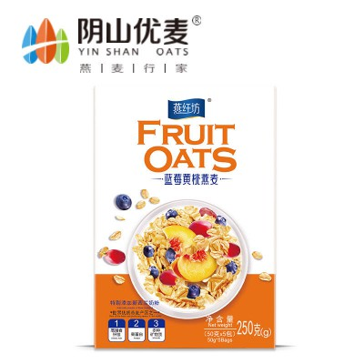 燕纤坊250g蓝莓黄桃燕麦