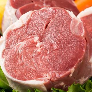 吉羊羊 羊肉卷 内蒙古 锡盟新鲜羔 羊肉卷5斤