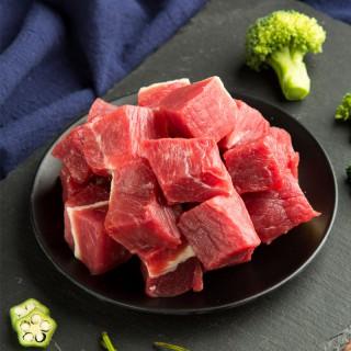 吉羊羊羊肉块500g*2袋 去骨羊肉块