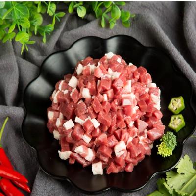 吉羊羊 手工羊肉陷500g*2  内蒙古苏尼特 草原散养 羊肉 新鲜羊肉馅