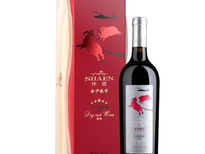 沙恩有机葡萄酒时光系列橡木桶陈酿五星干红750ml单支装
