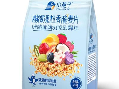 酸奶果粒香脆麦片420g