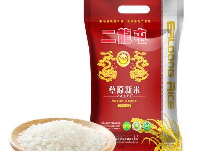 二龙屯 兴安盟大米草原新米5kg/袋