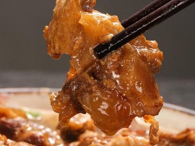 伊赫塔拉 国产原切筋头巴脑 500g/袋牛蹄筋 内蒙古特产 清真火锅食材熟食牛肉加热即食