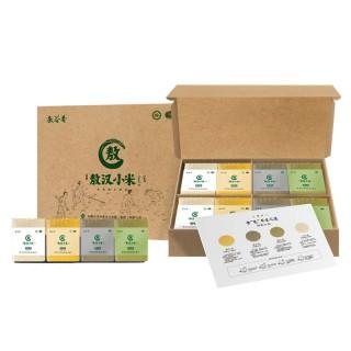 【敖汉小米】当季新小米 敖谷香有机四色小米礼盒4kg/盒  赤峰特产