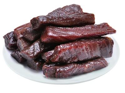 内蒙古  牛肉干  办公室零食  休闲小吃  草原手撕牛肉干218g包邮