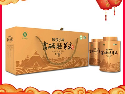 【敖汉小米】当季新小米 禾为贵有机富硒胚芽米4kg/盒 赤峰特产